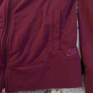 Nike Sportswear Long Sleeve Zip Up in M